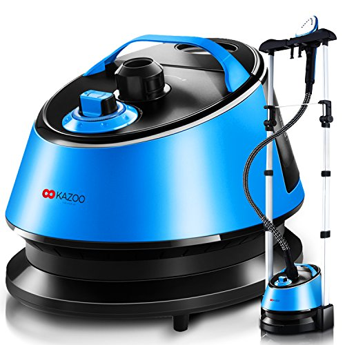 KAZOO-1600-ml-Household-Use-Wrinkle-Remover-Clothes-Fabric-Garment-Steamer-Portable-with-Stand-0-1