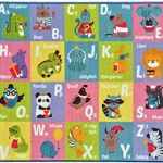 Kev-Cooper-Playtime-Collection-ABC-Alphabet-Animal-Educational-Area-Rug-50-x-66-0