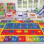 Kev-Cooper-Playtime-Collection-ABC-Numbers-and-Shapes-Educational-Area-Rug-50-x-66-0-1