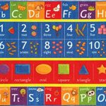 Kev-Cooper-Playtime-Collection-ABC-Numbers-and-Shapes-Educational-Area-Rug-50-x-66-0
