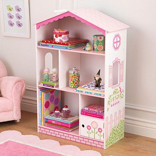 KidKraft-Dollhouse-Cottage-Bookcase-14604-0