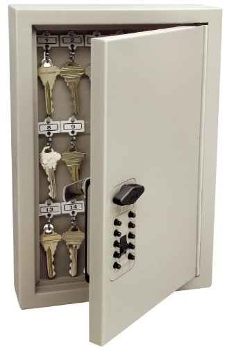 Kidde-AccessPoint-001795-Combination-TouchPoint-Entry-Key-Locker-Clay-30-Key-0