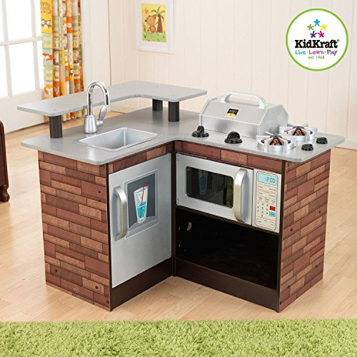 Kidkraft-Chillin-Grillin-Wooden-Kitchen-Chill-and-Grill-53311-Brand-New-0