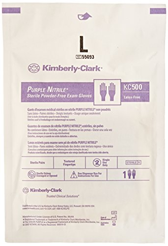 Kimberly-Clark-Safety-55093-Purple-Nitrile-Exam-Glove-Sterile-Pairs-Large-Pack-of-50-0