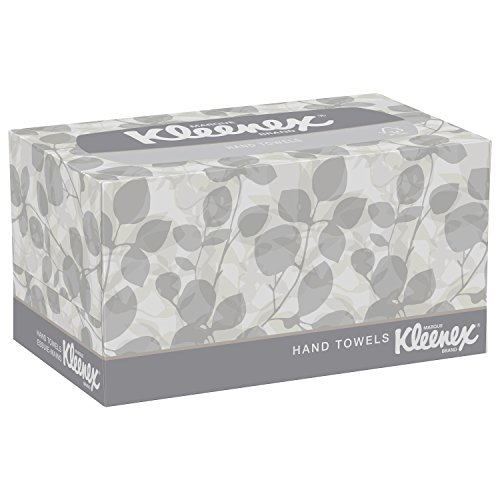 Kleenex-Hand-Towels-with-Premium-Absorbency-Pockets-01701-Hygienic-Countertop-Pop-Up-Box-White-120-Sheets-Carton-18-Cartons-Case-0