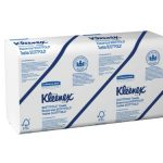 Kleenex-Scottfold-Multifold-Paper-Towels-13253-with-Fast-Drying-Absorbency-Pockets-White-25-Packs-Case-120-Trifold-Towels-Pack-3000-Towels-Case-0-0