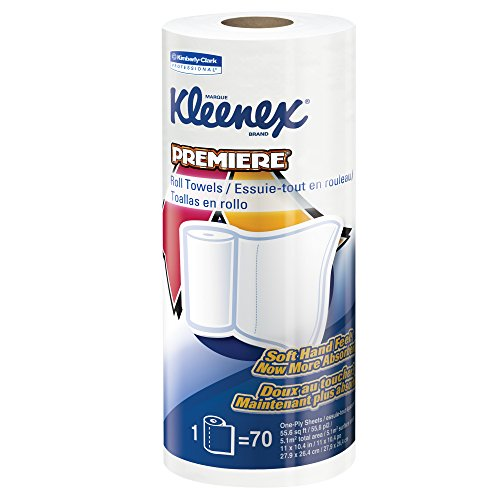 Kleenex-Towels-Premier-Kitchen-Paper-Towels-13964-Cloth-Like-Softness-Perforated-24-Rolls-Case-70-Kleenex-Paper-Towels-Roll-0