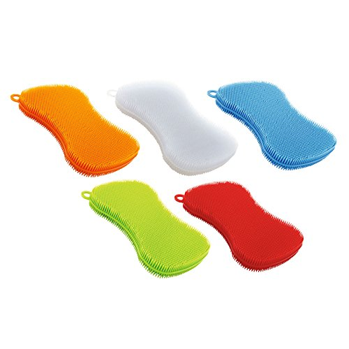 Kuhn-Rikon-Stay-Clean-Scrubber-Sponge-Set-Of-5-0