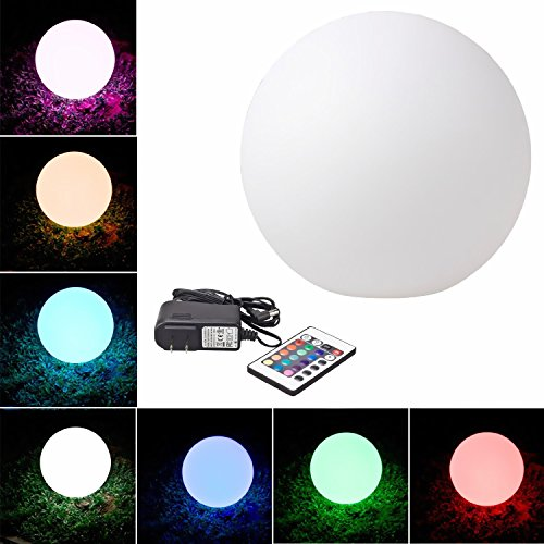 LED-Light-Up-Glow-Decoration-Illuminated-Ball-Sphere-Indoor-Outdoor-Mixing-Color-Changing-Furniture-with-Remote-Control-Mood-Lamp-Night-Light-Cordless-Waterproof-Rechargeable-Indooroutdoor-Use-Eco-Fri-0