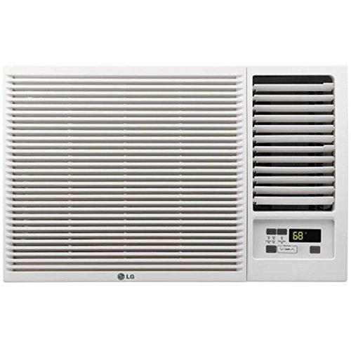 LG-12000-BTU-230V-Window-Mounted-AIR-Conditioner-with-11200-BTU-Supplemental-Heat-Function-0