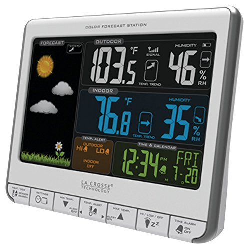 La-Crosse-Technology-308-1412S-Color-LCD-Wireless-Weather-Station-with-USB-Charging-Port-and-Customizable-Temperature-Alerts-0