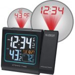 La-Crosse-Technology-616-146-Color-Projection-Alarm-Clock-with-Outdoor-temperature-Charging-USB-port-0-0