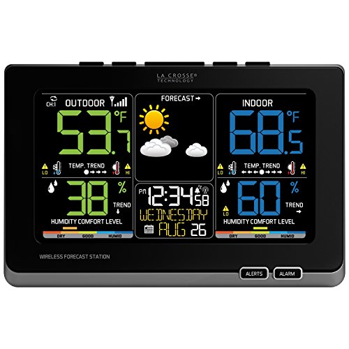 La-Crosse-Technology-C87214-Multicolor-Wireless-Forecast-Station-Black-0