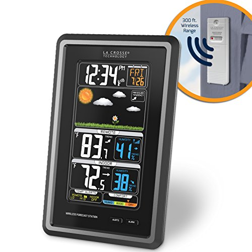 La-Crosse-Technology-S88907-Vertical-Wireless-Color-Forecast-Station-with-Temperature-Alerts-0-0