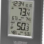 La-Crosse-Technology-WS-9080U-IT-Wireless-INOUT-Temperature-Station-featuring-Atomic-Self-setting-time-MINMAX-records-0