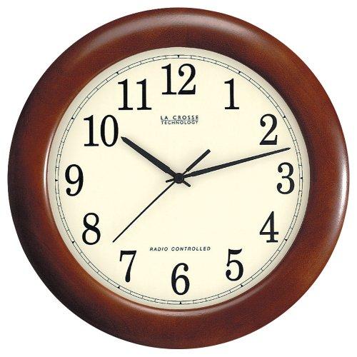 La-Crosse-Technology-WT-3122A-12-12-Inch-Wood-Atomic-Analog-Clock-0