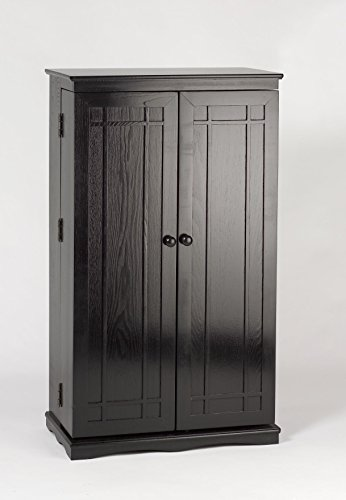 Leslie-Dame-Solid-Oak-Multimedia-Storage-Cabinet-with-Classic-Mission-Style-Doors-0-1