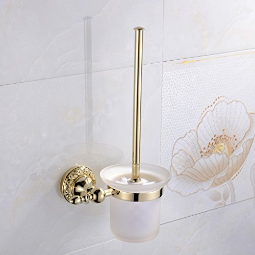 Leyden-Wall-Mount-Bathroom-Ti-PVD-Gold-Finish-Brass-Material-Toilet-Brush-Holder-0-0