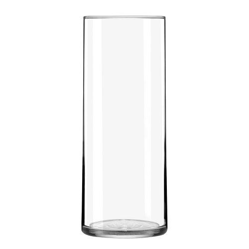 Libbey-Cylinder-Vase-875-Inch-Clear-Set-of-12-0