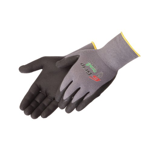 Liberty-G-Grip-Nitrile-Micro-Foam-Palm-Coated-Seamless-Knit-Glove-with-13-Gauge-Gray-Nylon-Shell-0