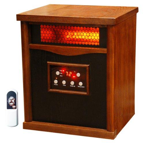 Lifesmart-6-Element-Large-Room-Infrared-Quartz-Heater-wWood-Cabinet-and-Remote-0