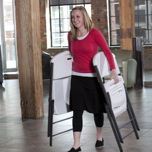 Lifetime-42804-Folding-Chair-White-Granite-Pack-of-4-0-1