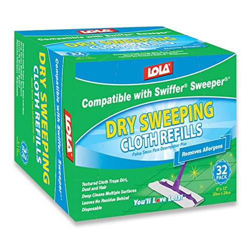 Lola-Products-9008-32-Count-Dry-Sweeping-Cloths-Case-of-12-0