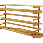 Lumber-Storage-Rack-Portamate-PBR-001-Six-Level-Wall-Mount-Wood-Organizer-Rack-that-Holds-Up-to-100-lbs-per-Level-Ideal-for-both-Indoor-and-Outdoor-Use-0-0