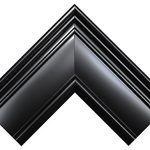 MCS-Pewter-Grooved-Beveled-Rectangular-Wall-Mirror-0-1