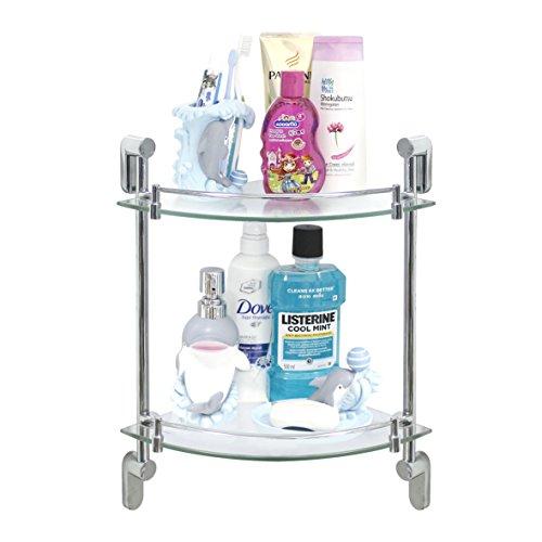 MODONA-Double-Corner-Glass-Shelf-with-Rail-Oval-Series-5-Year-Warrantee-0-0