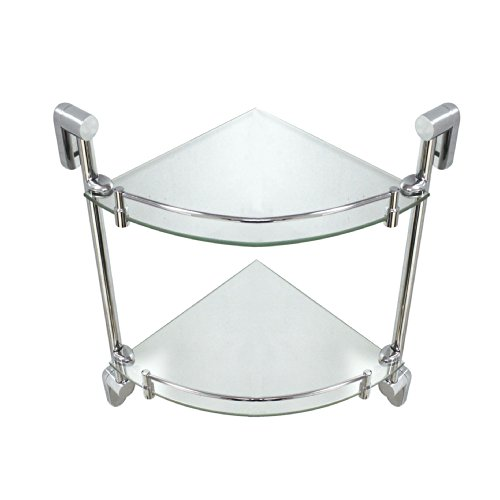 MODONA-Double-Corner-Glass-Shelf-with-Rail-Oval-Series-5-Year-Warrantee-0-1