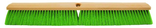 Magnolia-Brush-3318-N-Foam-Plastic-Block-Vehicle-Wash-Brush-Flagged-Nylon-Bristles-2-12-Trim-18-Length-Green-Case-of-12-0