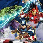 Marvel-Avengers-Blue-Circle-Microfiber-Curtain-Panel-Pair-with-Tiebacks-Set-0-0