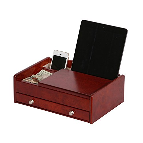 Mele-Co-Davin-Mens-Wooden-Dresser-Top-Valet-in-Dark-Burlwood-Walnut-Finish-0