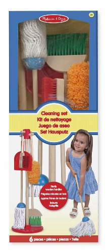 Melissa-Doug-18600-lets-Play-House-Dust-Sweep-And-Mop-Cleaning-Set-0-0