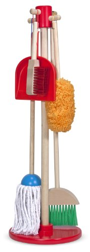 Melissa-Doug-18600-lets-Play-House-Dust-Sweep-And-Mop-Cleaning-Set-0