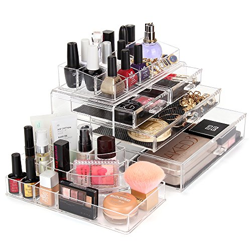 MelodySusie-Acrylic-Makeup-Organizer-with-10-Compartments-0-1