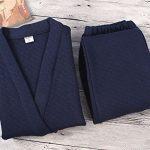 Mens-Kimono-Pajamas-Autumnwinter-Bathrobe-Breathable-Cotton-Pajamas-Suit-0-0