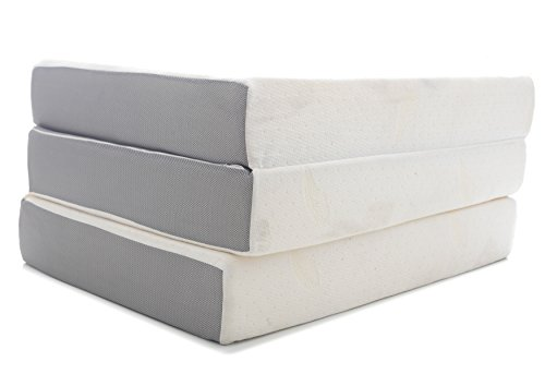 Milliard-6-Inch-Memory-Foam-Tri-fold-Mattress-with-Ultra-Soft-Removable-Cover-with-Non-Slip-Bottom-0-0