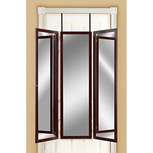 Mirrotek-Triple-View-Professional-Over-The-Door-Dressing-Mirror-with-4-Mirrors-0-1