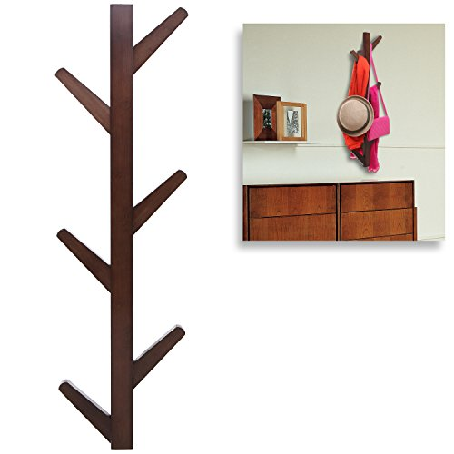 Modern-Brown-Bamboo-Wall-Mounted-6-Hook-Hanging-Storage-Organizer-Entryway-Coat-Hat-Rack-MyGift-0