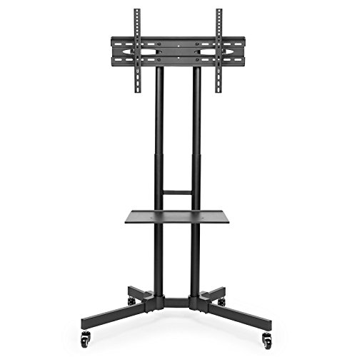 Mount-Factory-Rolling-TV-Stand-Mobile-TV-Cart-for-32-65-inch-Plasma-Screen-LED-LCD-OLED-Curved-TVs-Mount-Universal-with-Wheels-0-1