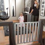 Munchkin-Loft-Aluminum-Infant-Safety-Gate-Silver-0-0