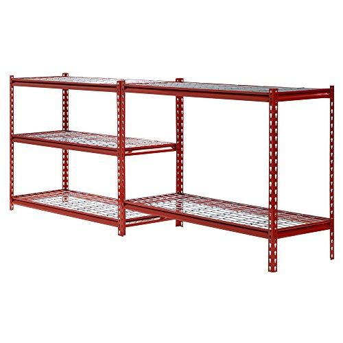 Muscle-Rack-UR184872-R-5-Shelf-Steel-Shelving-Unit-48-Width-x-72-Height-x-18-Length-Red-0-1