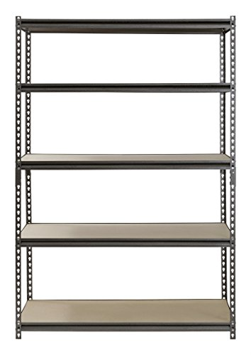 Muscle-Rack-UR482472PB5P-SV-Silver-Vein-Steel-Storage-Rack-5-Adjustable-Shelves-4000-lb-Capacity-72-Height-x-48-Width-x-24-Depth-0-0