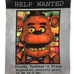 NECA-Five-Nights-At-Freddys-Fleece-Help-Wanted-Ad-Fleece-0