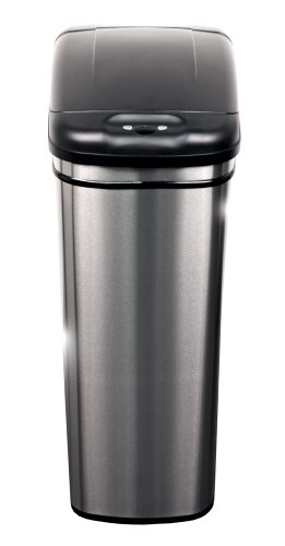 NST-Nine-Stars-DZT-42-1-Infrared-Touchless-Automatic-Motion-Sensor-Lid-Open-Trash-Can-111-Gallon-0-0