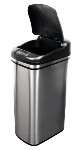 NST-Nine-Stars-DZT-42-1-Infrared-Touchless-Automatic-Motion-Sensor-Lid-Open-Trash-Can-111-Gallon-0-1