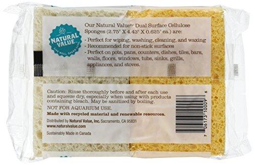 Natural-Value-Dual-Surface-Cellulose-Sponges-4-Sponges-Pack-of-24-0-0