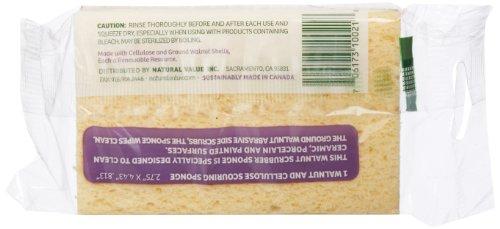 Natural-Value-Walnut-Scrubber-Sponge-Pack-of-24-0-0